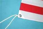 ポリエステル国旗仕上がり画像