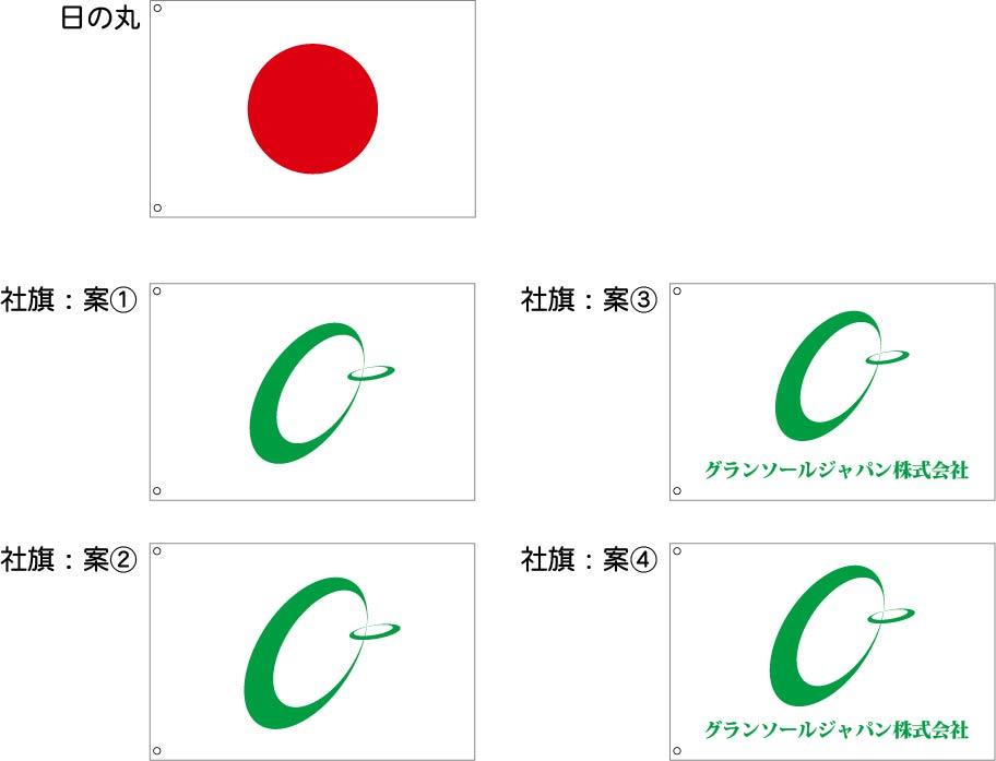 グランソールジャパン 旗 原稿