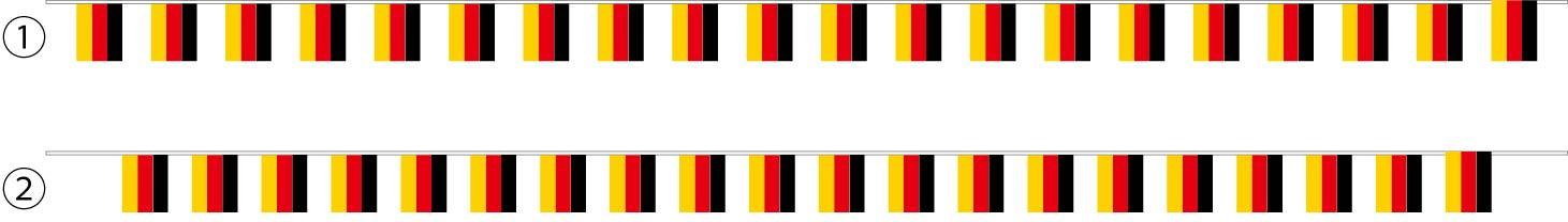 ドイツ連続旗 原稿
